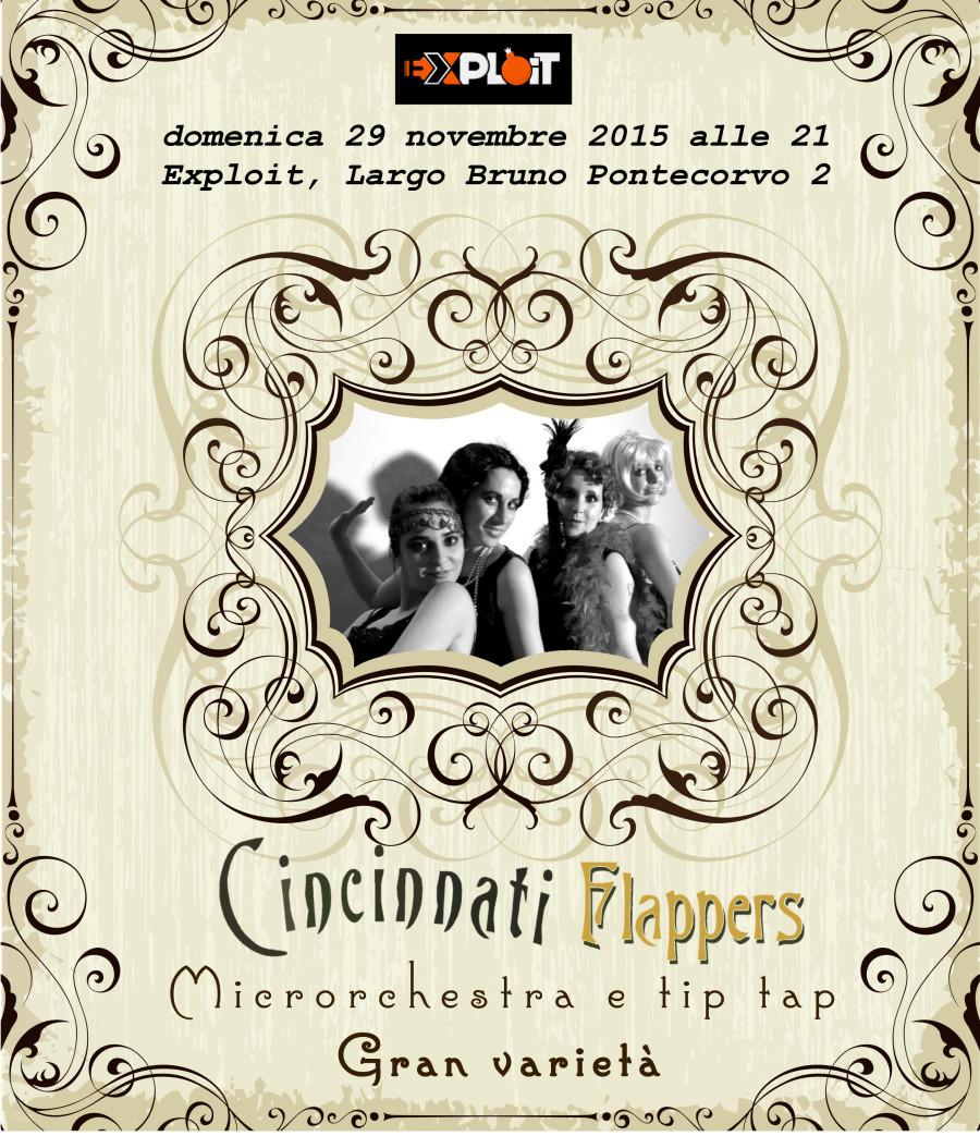 29 Novembre: Le Cincinnati Flappers a Pisa!