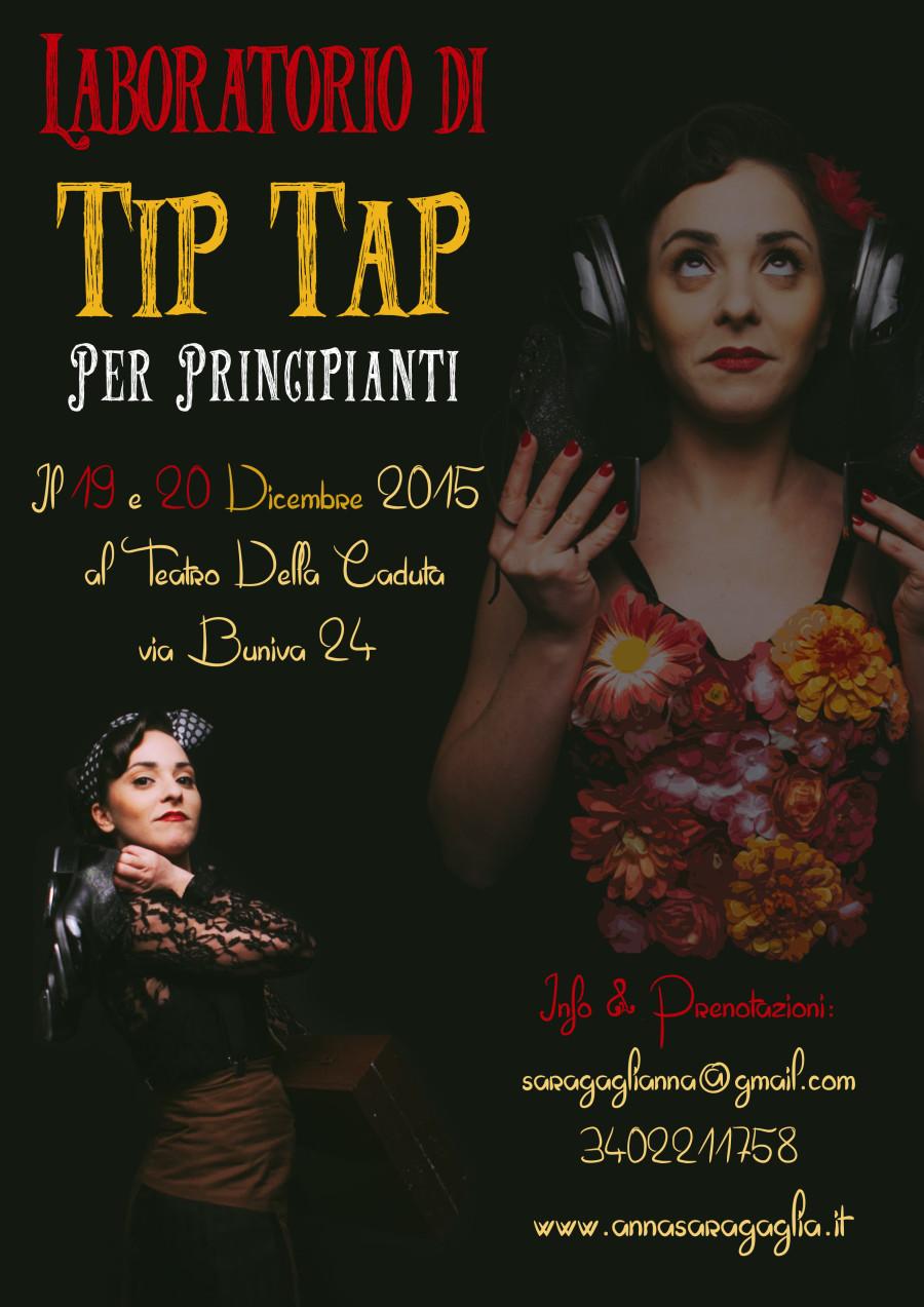 il 19 e il 20 dicembre Laboratorio di Tip Tap a Torino