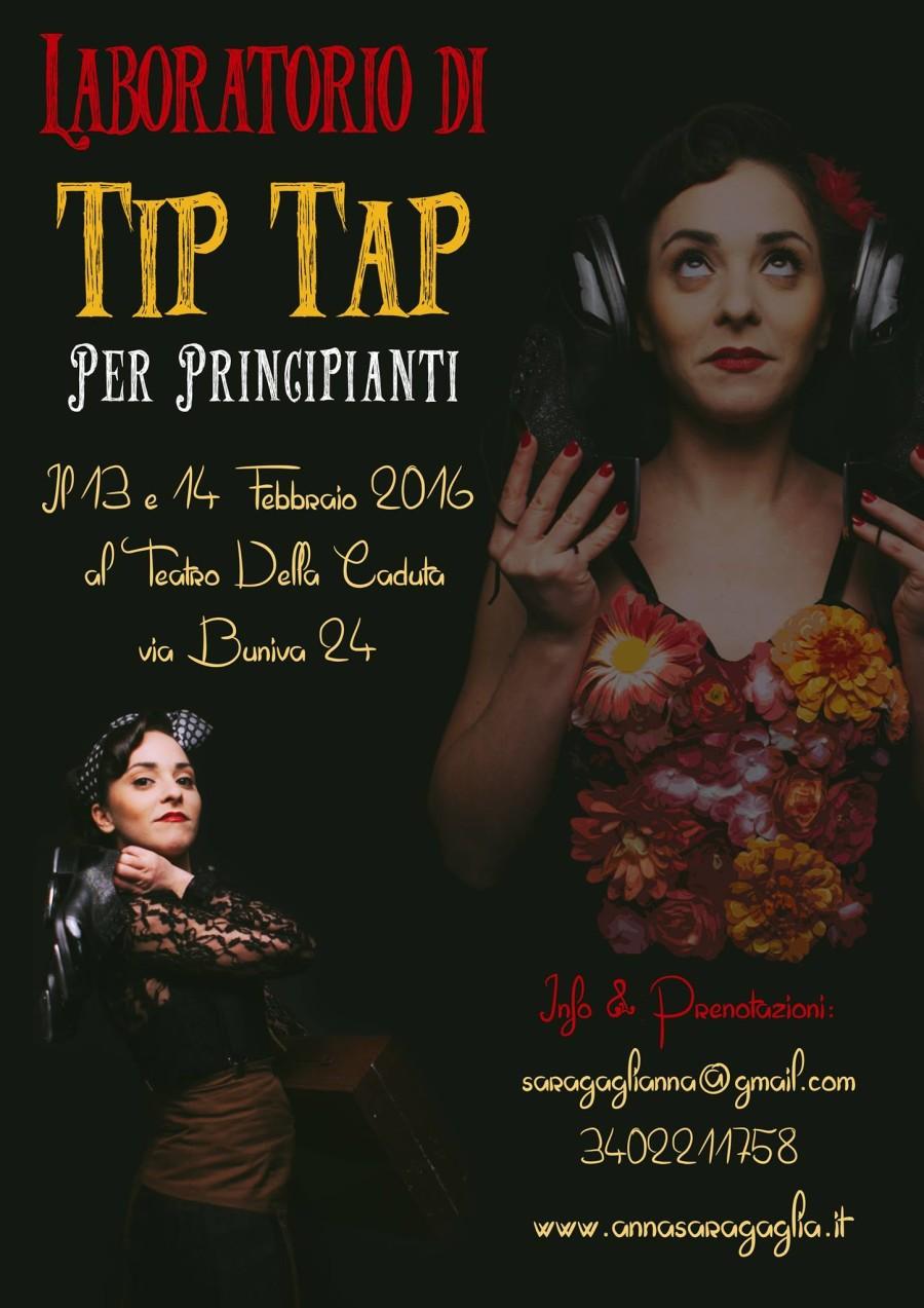il 13 e il 14 Febbraio:  Per un San Valentino coi Tacchi!! Workshop di Tip Tap a Torino