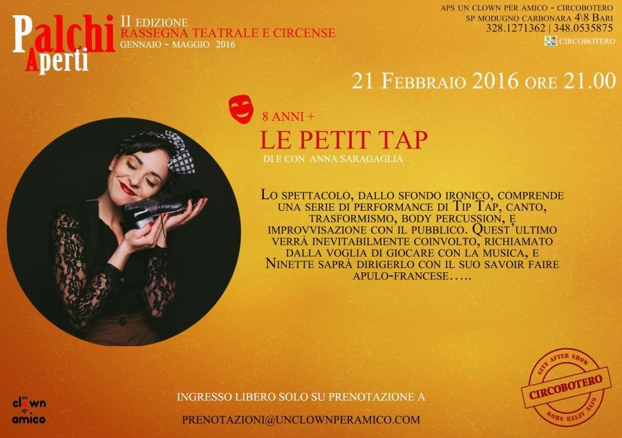 il 21 Febbraio, L'Annina è al Circo Botero!!