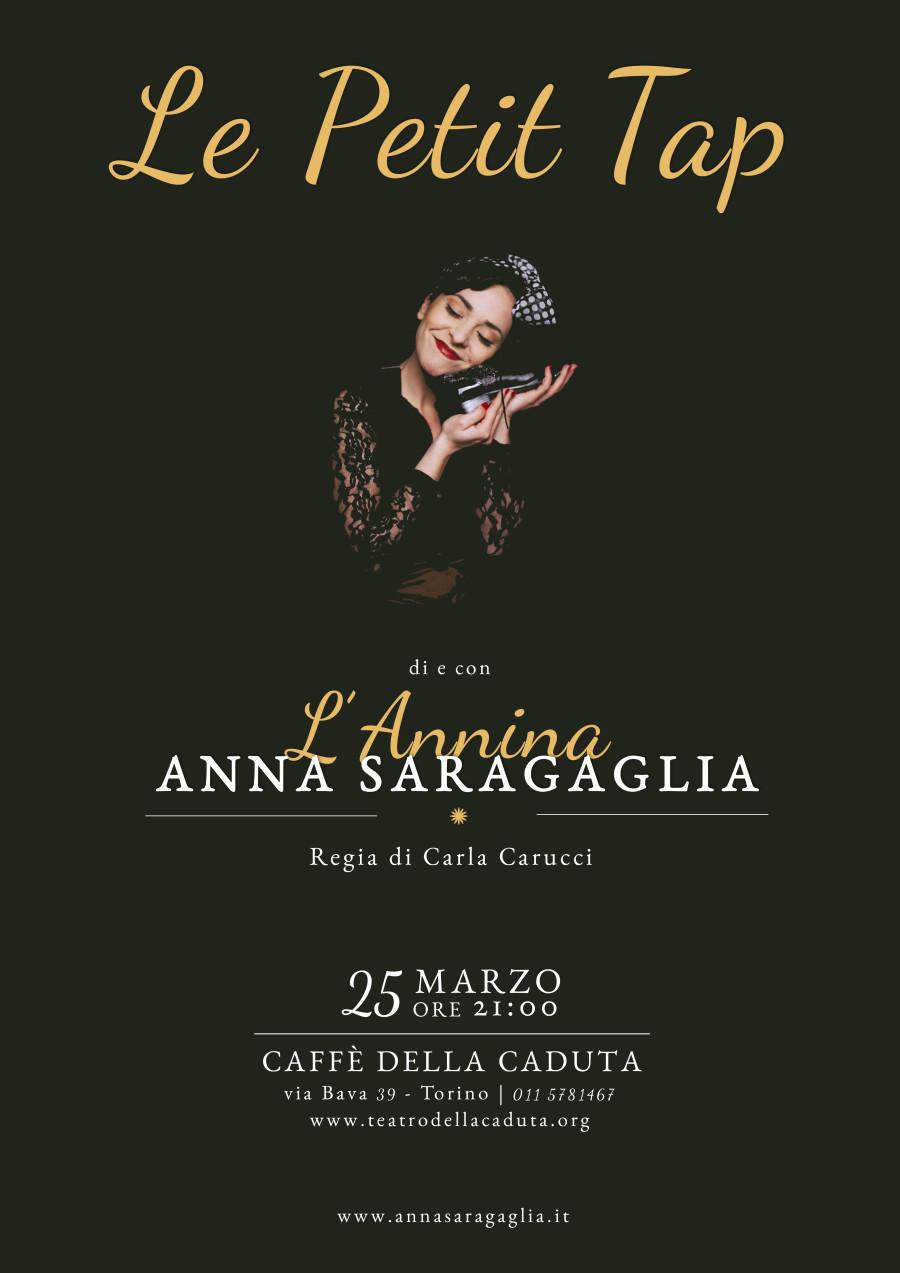 """il 25 marzo: L'Annina presenta per la prima volta """"Le Petit Tap"""" a Torino"""