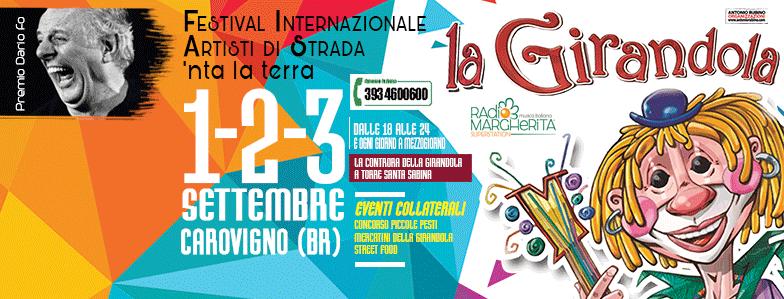1-2-3 Settembre: L'Annina alla Girandola Festival, Carovigno