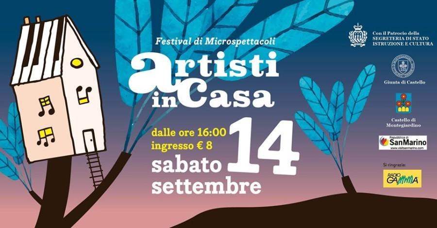 """14 Settembre: """"Festival artisti in casa"""" a Montegiardino (RSM)"""