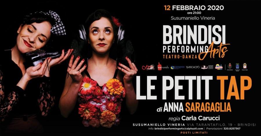 12 Febbraio: Le Petit Tap a Brindisi